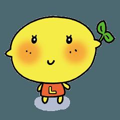 モンモンレモンちゃんスタンプ