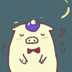 [LINEスタンプ] ミニぶたさん3