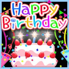 動く☆お誕生日♥お祝い♥年間イベント♥