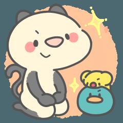 [LINEスタンプ] ねこ敬語