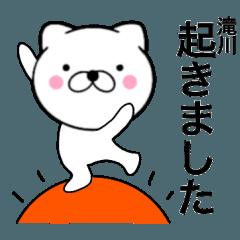 【滝川】使う主婦が作ったデカ文字ネコ
