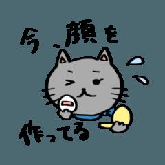 [LINEスタンプ] ゆるいねこの女子力(?) (1)