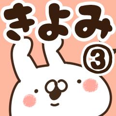 【きよみ】専用3