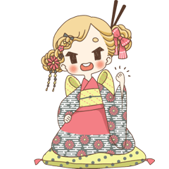 Ramen Enthusiast in Kimono, Menchi
