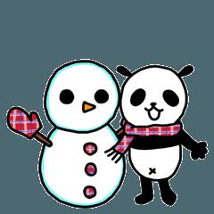 えりパンダの冬セット