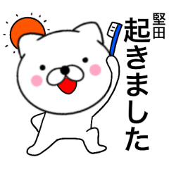 【堅田】が使う主婦が作ったデカ文字ネコ