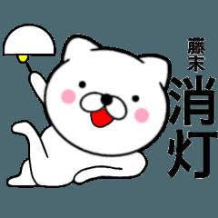 【藤末】が使う主婦が作ったデカ文字ネコ