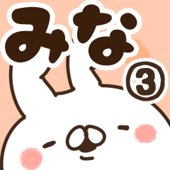 【みな】専用3