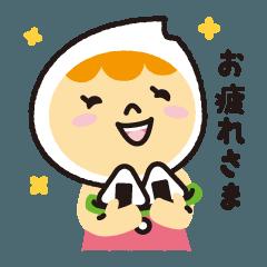 兵庫米きぬむすめ「きぬこちゃん」
