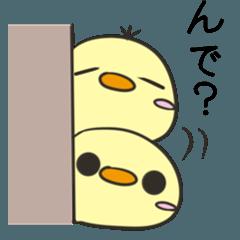 茨城弁のたぬきとひよこ2