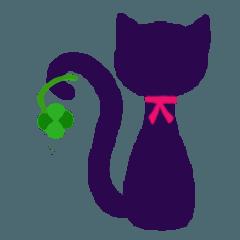 [LINEスタンプ] 黒猫 ココ様