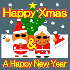 かわいい祖父母のクリスマス&正月