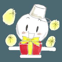 Happy雪だるま☆クリスマス
