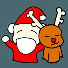 落書きクリスマス