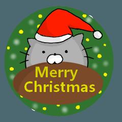ねころんの使える全部クリスマススタンプ!