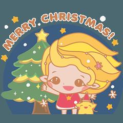 Star&MoonMoon-Merry X'mas