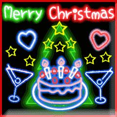 動く☆光のクリスマス☆年末年始