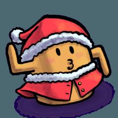 はにわガール はに子 クリスマスバージョン
