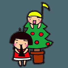 クリスマスタンプとオダミヨのぼやき