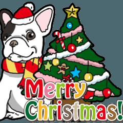わんこ日和 フレンチブルドッグクリスマス