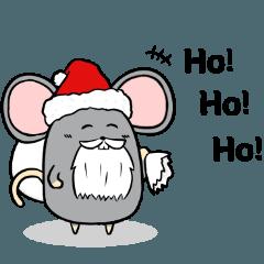 ねずおスタンプ クリスマスver