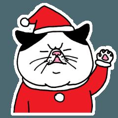 ぽっちゃり猫のちょっとだけ関西弁(Xmas)