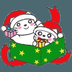 子ねこたちのクリスマス