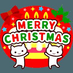 【動く♪クリスマス】大人かわいいメリクリ