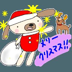 クリスマス♥スタンプ(お正月2018)