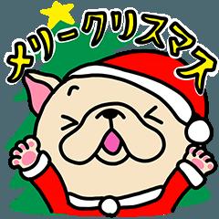 フレブルちゃんクリスマススタンプ