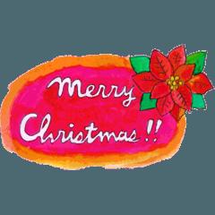 動く!moyuのクリスマススタンプ