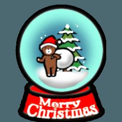 ちっさなくまさんの楽しいクリスマス