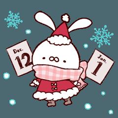 もっちりうさぎ4(クリスマス)