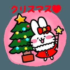 ほいっぷうさぎ(クリスマス1)