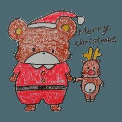 クレヨンくまたん クリスマス