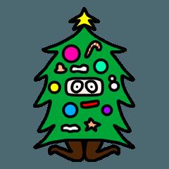 クリスマスにしか使えないスタンプ2。
