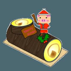 サッカーブタブーブー(クリスマス編)