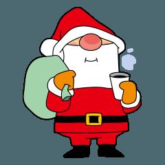 クリスマス、サンタクロースキャラクター