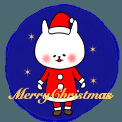 ふくにゃんのクリスマスとお正月スタンプ