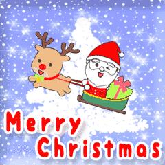動く♪エンジョイ クリスマス♥