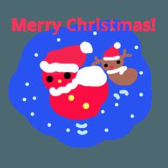 妖精サンタからのメリークリスマス