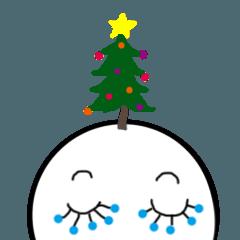 冬が来た!クリスマススタンプ