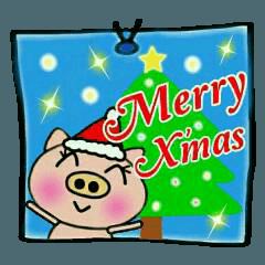 ちょ~便利![クリスマス]のスタンプ!