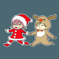 クリスマスと男の子たち