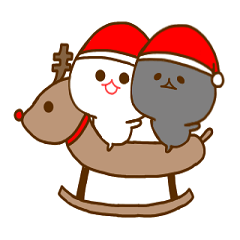 みじめちゃんと恨みちゃん(クリスマス)
