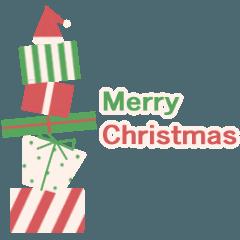 クリスマス・冬スタンプ