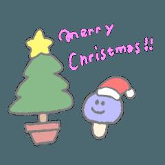 クリスマスきのこ