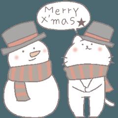 にゃんこのほっこりクリスマス