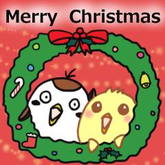 すずめん&ひよたそ~クリスマス ver.~
