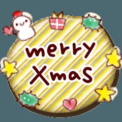 クリスマス&年末スタンプ